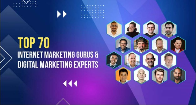 Read more about the article Top 70 Internet Marketing Gurus and Digital Marketing Experts